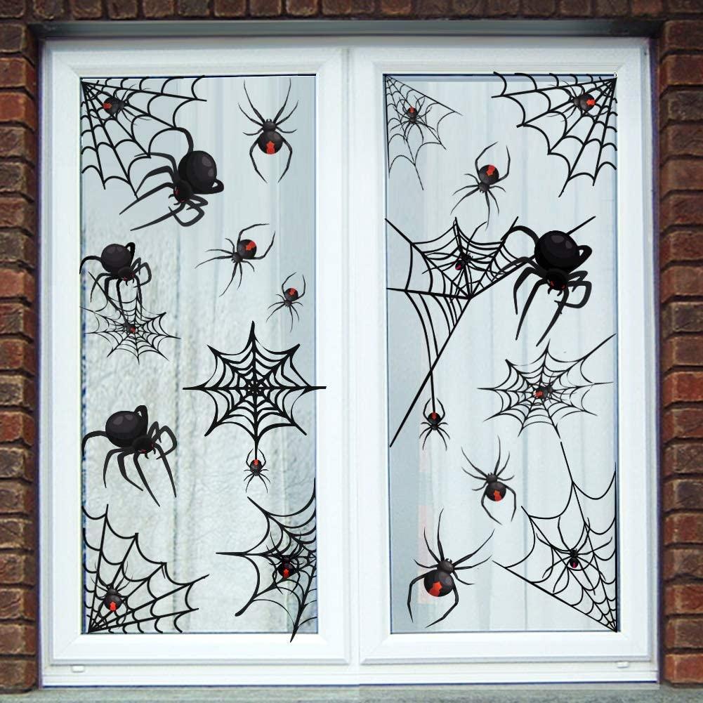 Halloween window decoration