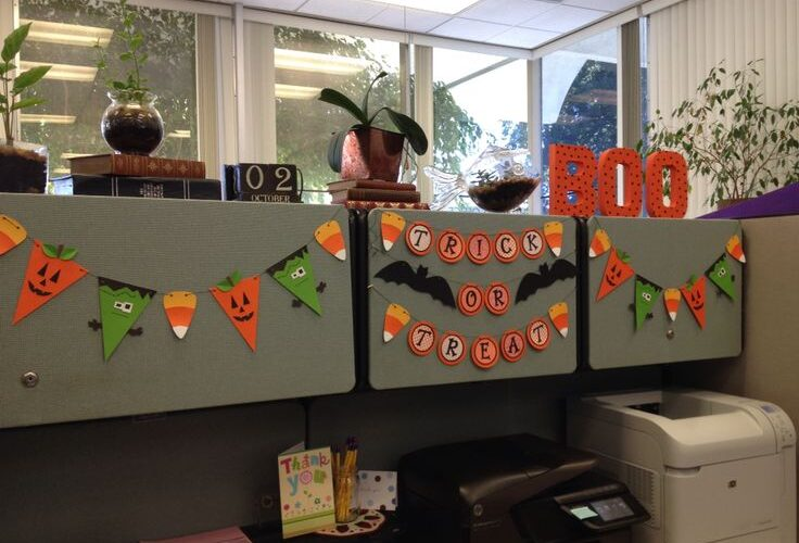 office decoration for Halloween