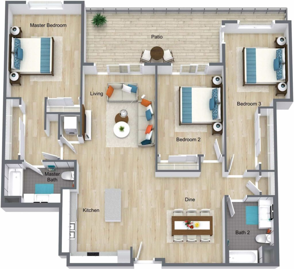 Tips to Choose the Best Condo Unit Floor Plan - The Architecture