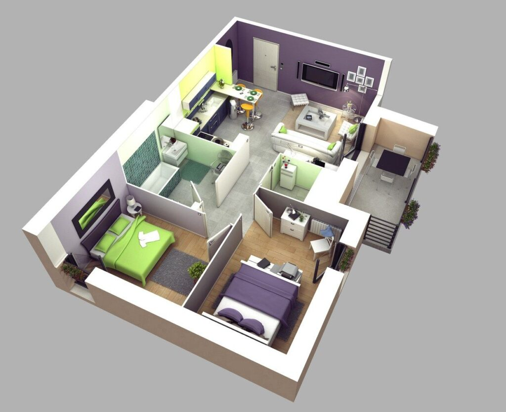 Condo Unit Floor Plan