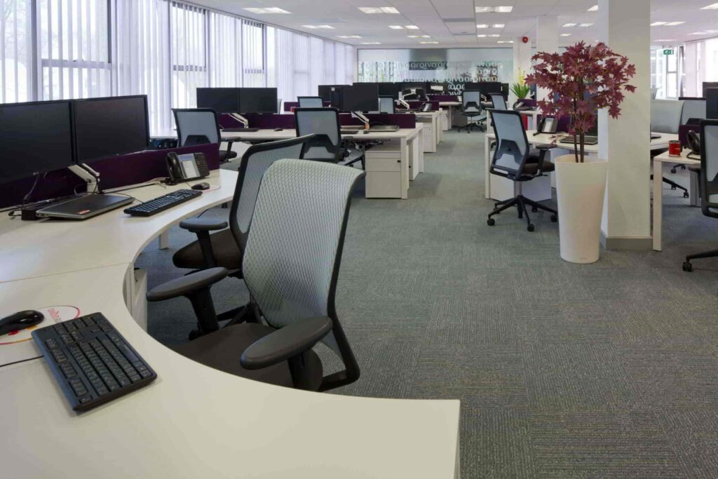 Rearranging Office Interior