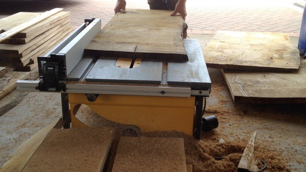 How to Square Lumber Using a Table Saw