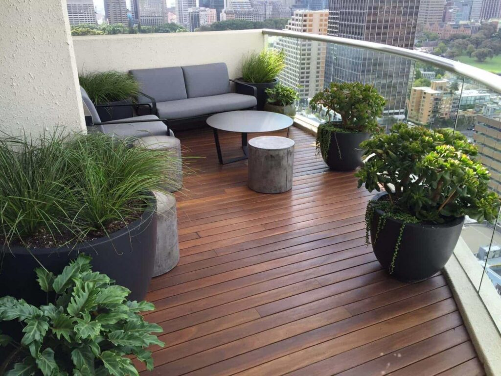 Terrace Garden Decoration Ideas