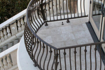 Custom Metal Balcony Railings