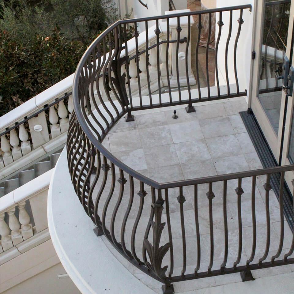 Custom Metal Balcony Railings