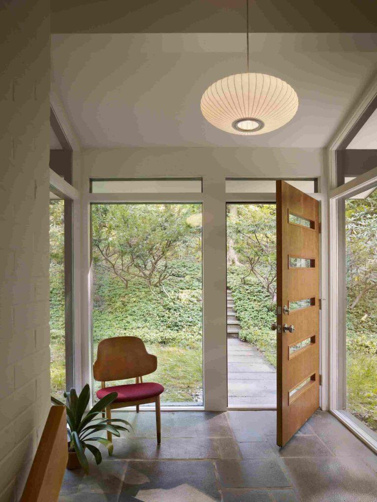 Mid Century Modern Interior Doors Design