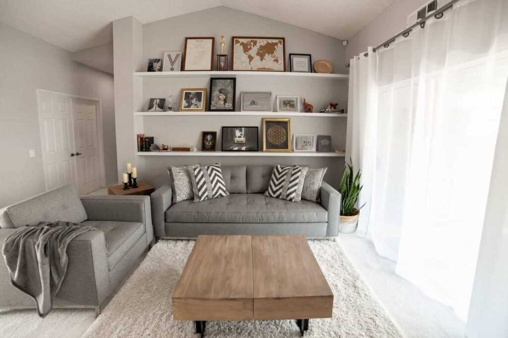 Budget-Friendly Living Room Makeover