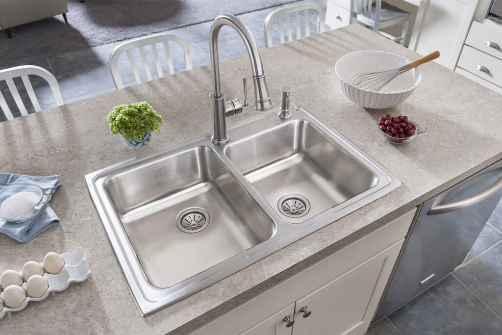 How deep are kitchen sinks 2