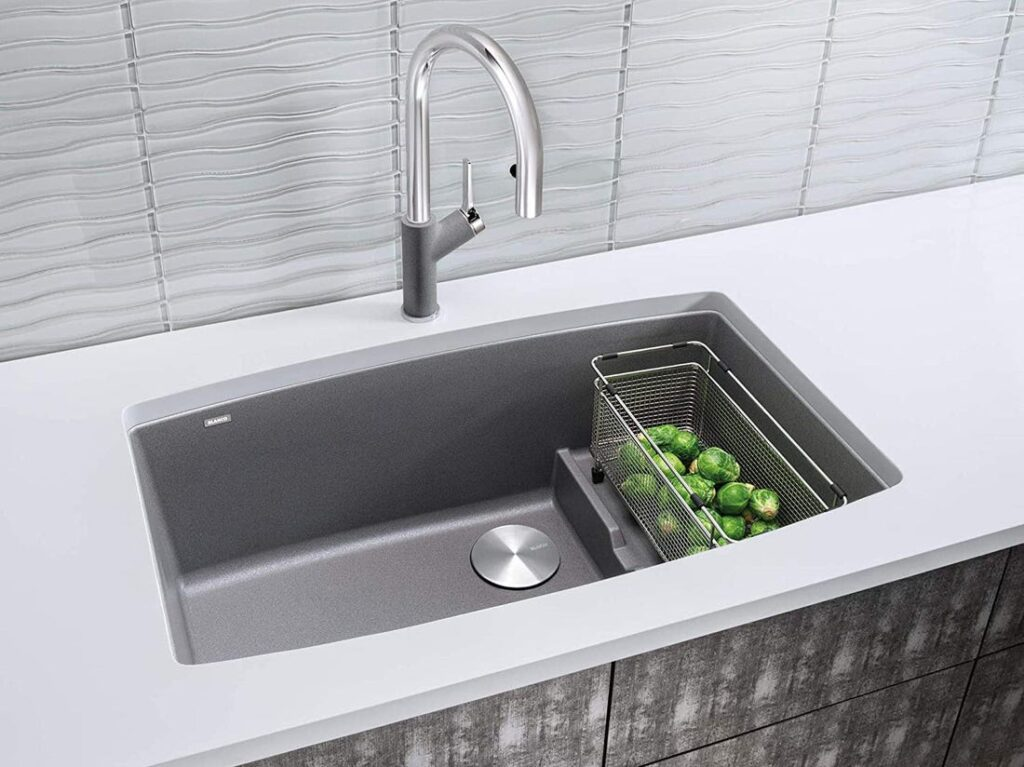 How deep are kitchen sinks 3