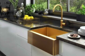 How deep are kitchen sinks 9