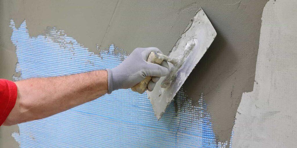 Skip Trowel Drywall Texture