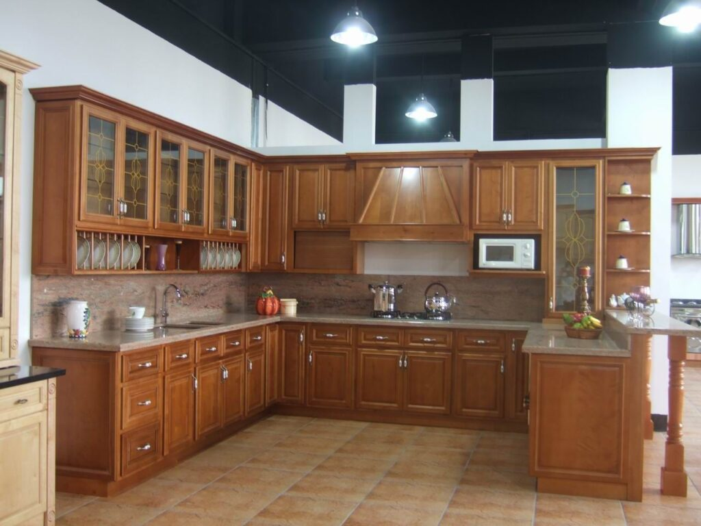 wood kitchen furniture