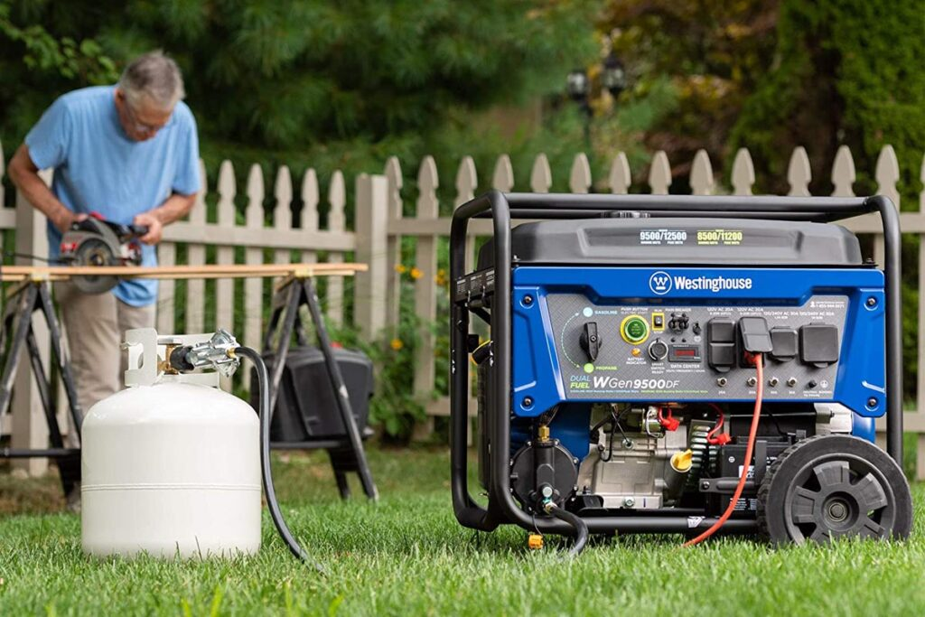 Charge a Westinghouse Generator Battery