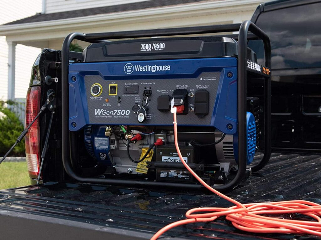 Charge a Westinghouse Generator Battery 4