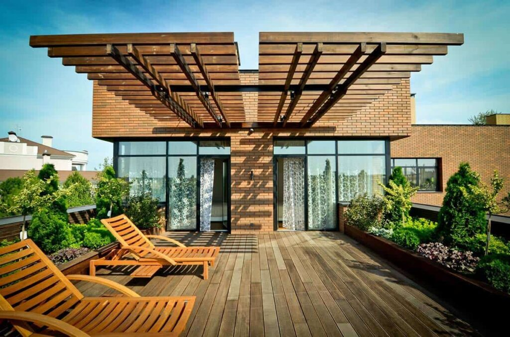 Color ideas for roof top garden