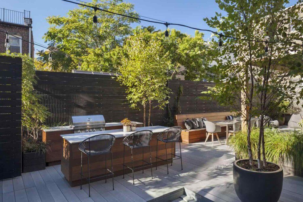 terrace garden storage facilities