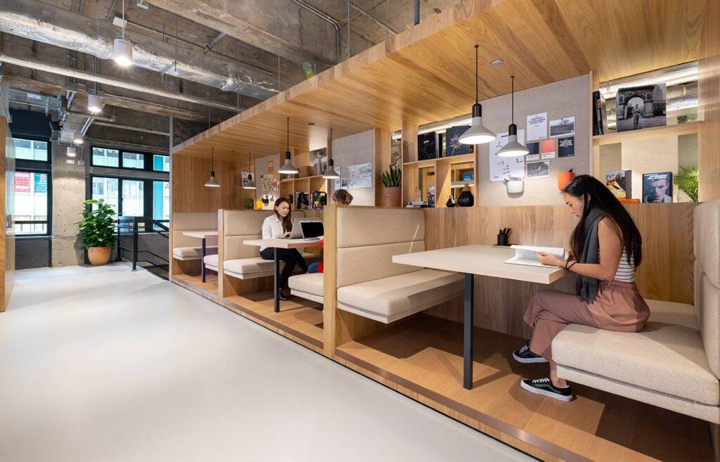 Wework space Interior