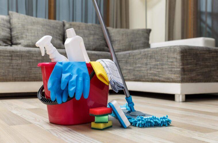 DIY Sanitizing Station at Home