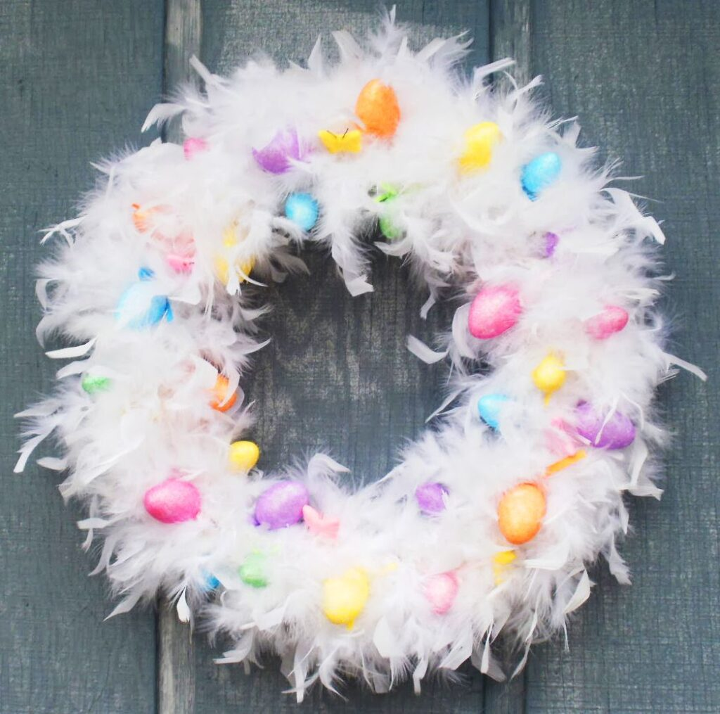 home decoration for easter day