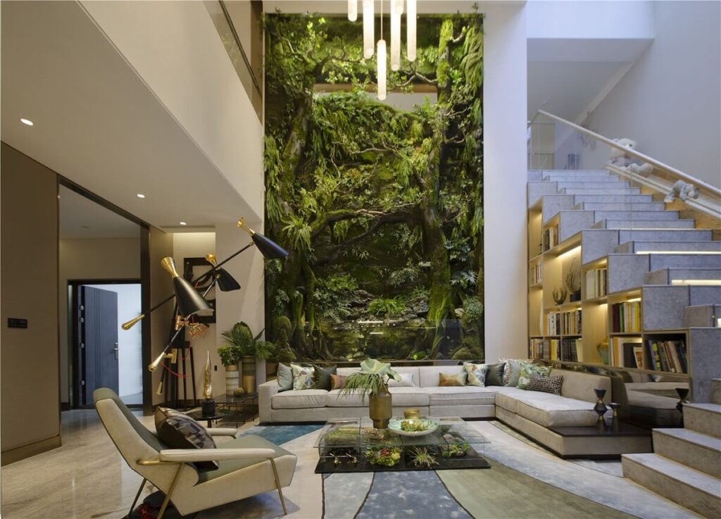 Natural Elements in a Modern Design