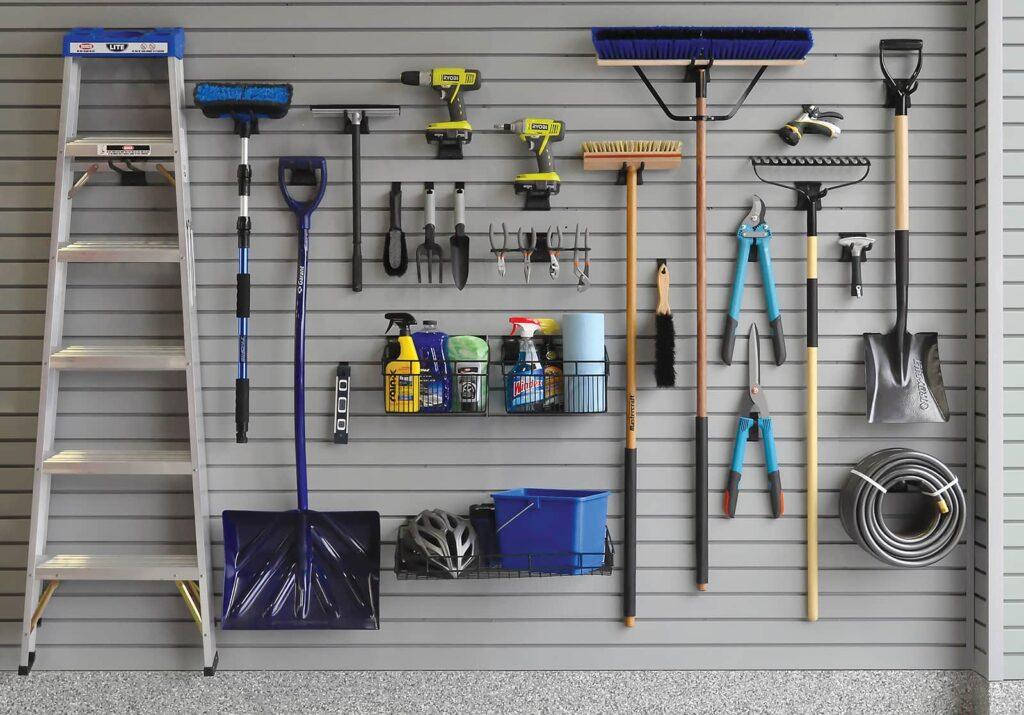 Transforming Garage Storage E With Heavy Duty Slatwall Panels