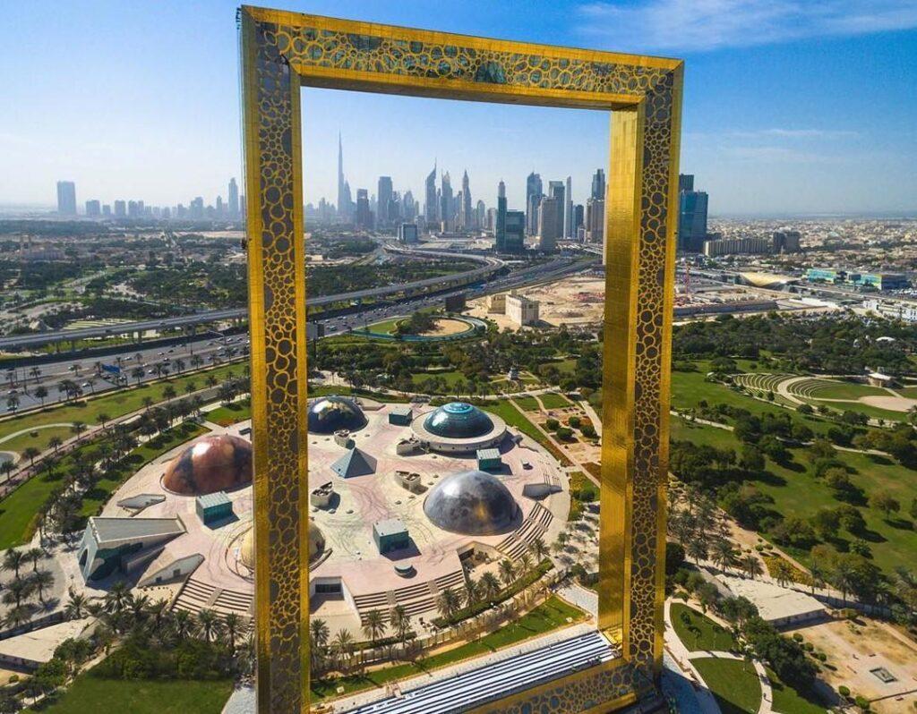 Golden Frame (Dubai)