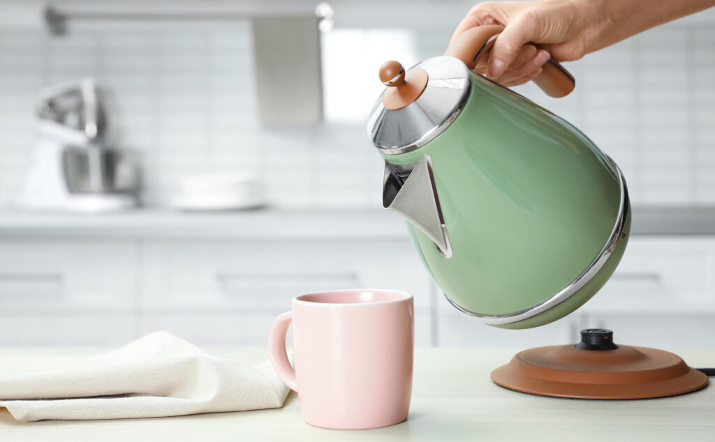 Hard Water Can Damage A Kettle