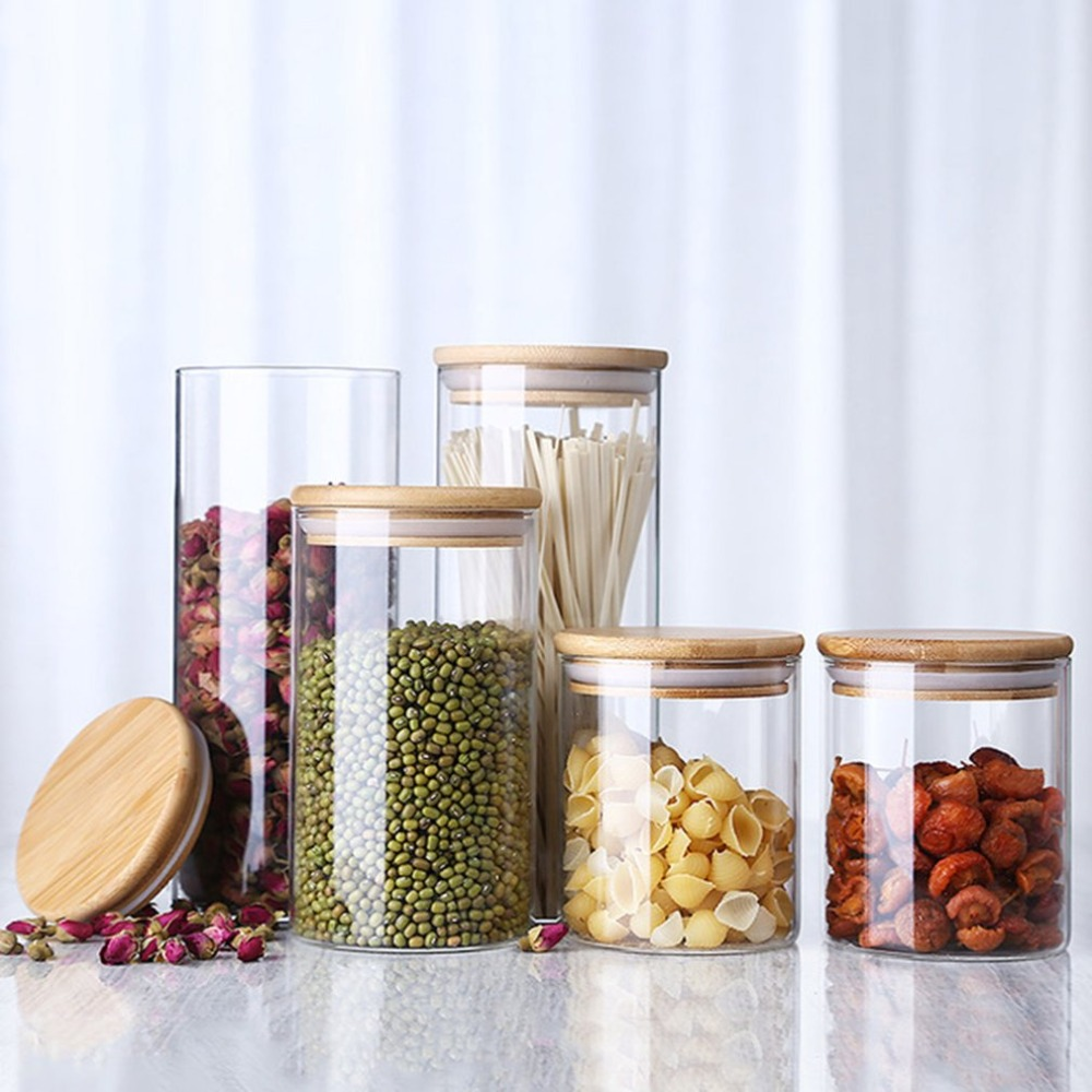 Store Food in Glass