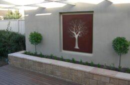 outdoor wall design