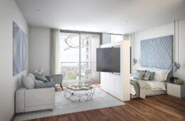 Transform Your Studio Apartment To Royal Castle