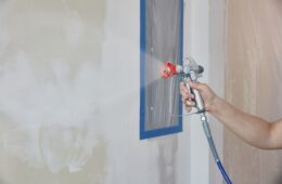 Paint Your Walls With A Cordless Paint Sprayer
