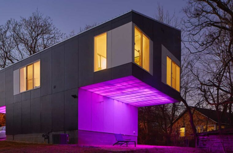 architectural LED facade lighting